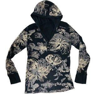 Calvin Klein Tops - Calvin Klein Hooded Long Sleeve Jersey & Raccoon